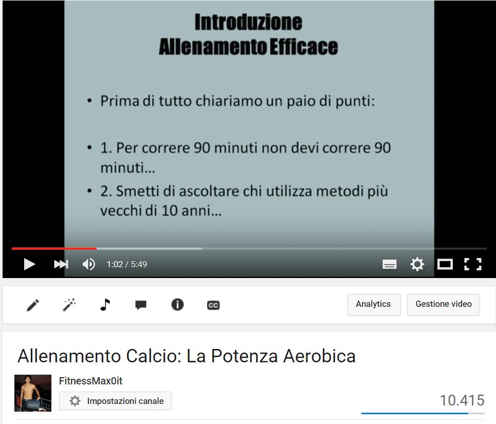 Video Corso Calcio