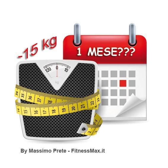 Perdere 15 kg in un mese?