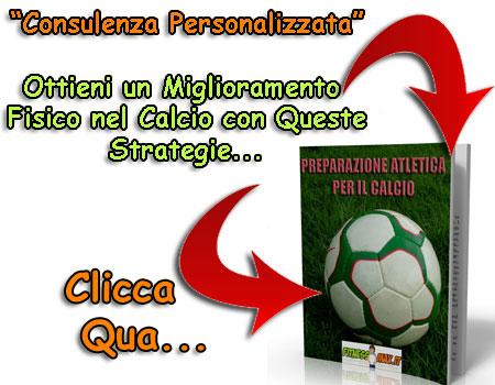 Consulenza Personalizzata Calcio