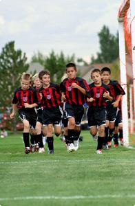 Allenamento per il Calcio