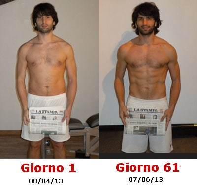 perdere peso uomo 40 anni