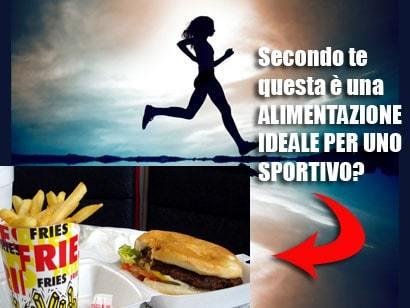 Alimentazione per lo Sportivo
